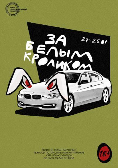 Премьера спектакля «За белым кроликом»